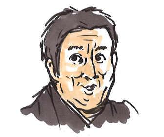上杉祥三(彦三郎 ひこさぶろう役)