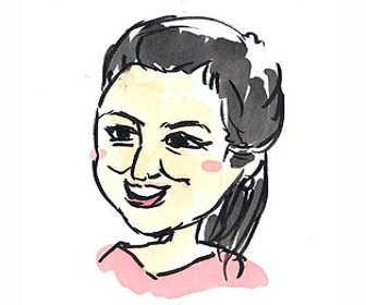 NHK朝の連続テレビ小説「おかえりモネ」主人公の母・亜哉子役の鈴木京香の画像です。