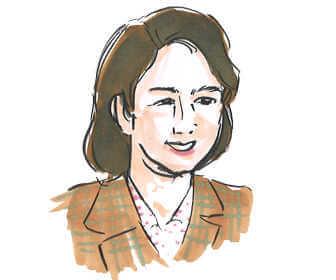 菊池昌子のキャストをつとめる堀内敬子
