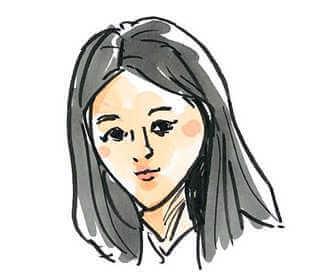 裕一の初恋相手の志津を演じる堀田真由