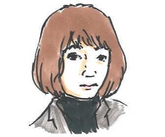 NHK朝の連続テレビ小説「おかえりモネ」で主人公の妹・未知役の蒔田彩珠の画像です。