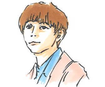 NHK朝の連続テレビ小説「おかえりモネ」で亮ちん役の永瀬廉の画像です。
