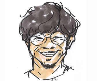 NHK朝の連続テレビ小説「おかえりモネ」で翔洋役の浜野謙太の画像です。