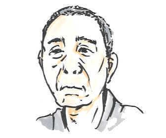 NHK朝の連続テレビ小説「おかえりモネ」で川久保役のでんでんの画像です。
