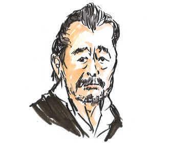 NHK朝の連続テレビ小説「おかえりモネ」tで主人公の祖父・龍巳役の藤竜也の画像です。